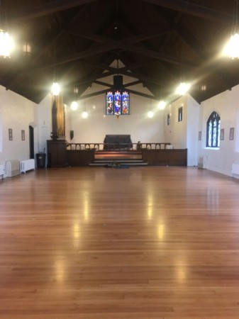 Fredell Holy Trinity Floor Restoration