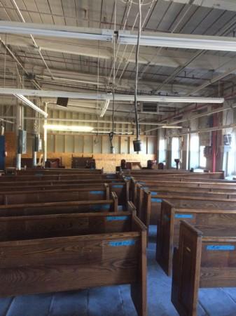 Fredell Holy Trinity Pew Restoration