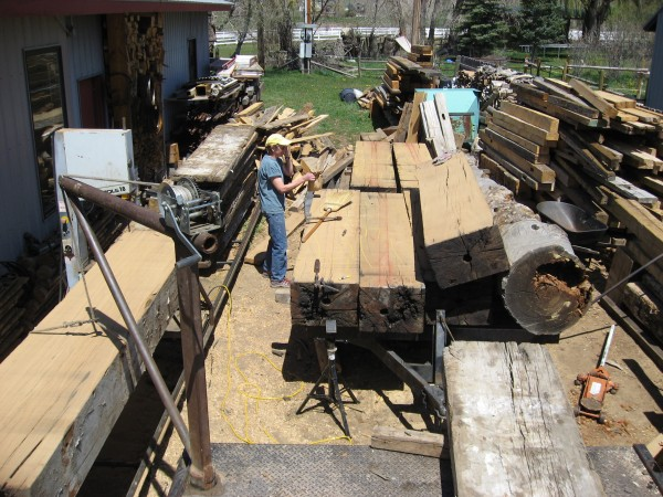 RANCH BENCHES - TIMBER MILLING