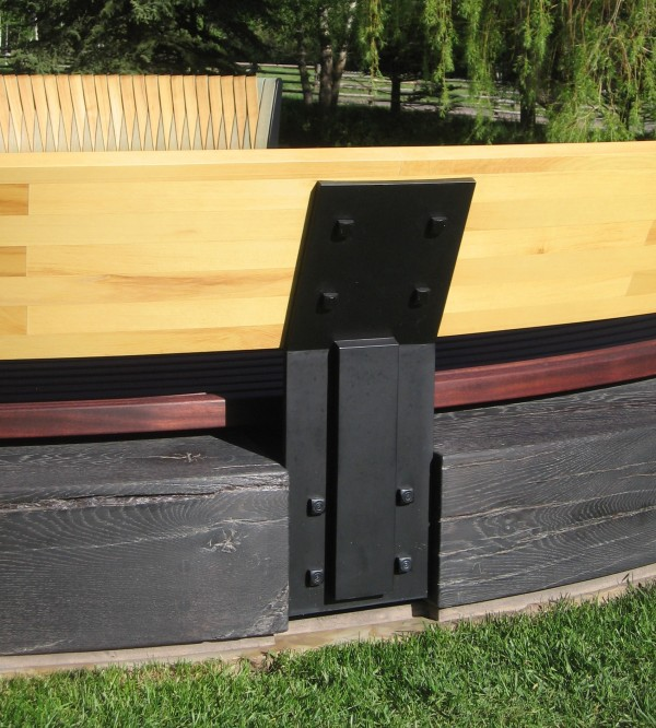 ASPEN RANCH BENCHES - DETAIL