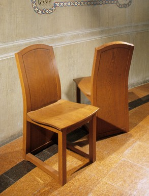 STANFORD MEMORIAL CHAPEL - CHAIRS