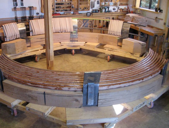 Fredell Aspen Benches Construction