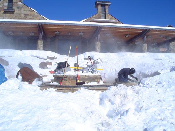 Fredell Aspen Benches Site Prep